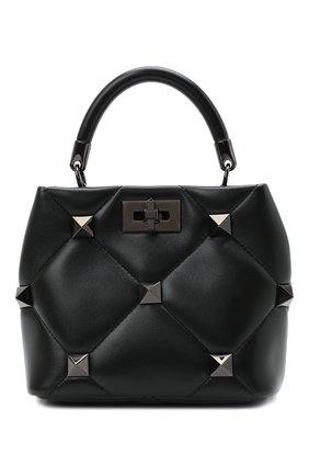Женская сумка roman stud small VALENTINO черного цвета, арт. WW2B0I97/LWB | Фото 1
