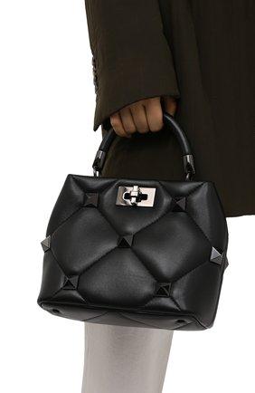 Женская сумка roman stud small VALENTINO черного цвета, арт. WW2B0I97/LWB | Фото 2