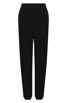 Женские хлопковые джоггеры HERON PRESTON FOR CALVIN KLEIN черного цвета, арт. K10K108244   Фото 1 (Длина (брюки, джинсы): Удлиненные; Женское Кросс-КТ: Джоггеры - брюки, Брюки-спорт; Силуэт Ж (брюки и джинсы): Джоггеры; Материал внешний: Хлопок; Стили: Спорт-шик)