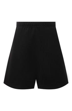 Женские хлопковые шорты HERON PRESTON FOR CALVIN KLEIN черного цвета, арт. K10K108245 | Фото 1 (Материал внешний: Хлопок; Стили: Спорт-шик; Женское Кросс-КТ: Шорты-одежда, Шорты-спорт; Длина Ж (юбки, платья, шорты): Мини)