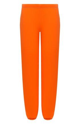 Женские хлопковые джоггеры HERON PRESTON FOR CALVIN KLEIN оранжевого цвета, арт. K20K203537   Фото 1