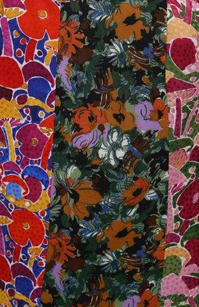 Женское платье из вискозы M MISSONI разноцветного цвета, арт. 2DG00550/2W0077 | Фото 5 (Рукава: Длинные; Длина Ж (юбки, платья, шорты): Мини; Случай: Повседневный; Материал внешний: Вискоза; Стили: Бохо; Женское Кросс-КТ: Платье-одежда)
