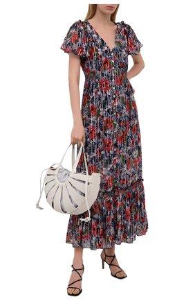 Женское платье из вискозы M MISSONI разноцветного цвета, арт. 2DG00551/2W0074   Фото 2