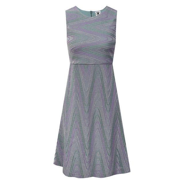 Платье из хлопка и вискозы M Missoni