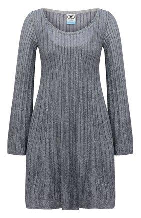 Женское платье из вискозы M MISSONI серебряного цвета, арт. 2DG00583/2K008Y   Фото 1