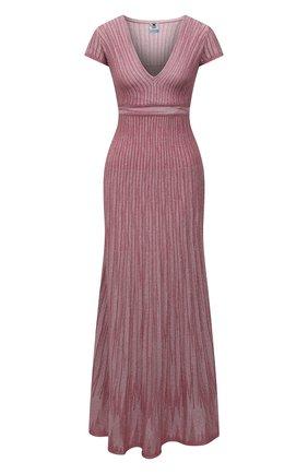 Женское платье из вискозы M MISSONI розового цвета, арт. 2DG00584/2K008Y   Фото 1