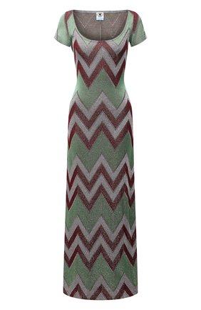 Женское платье из хлопка и вискозы M MISSONI разноцветного цвета, арт. 2DG00595/2J005M   Фото 1