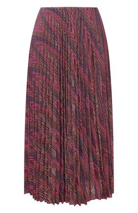 Женская юбка из хлопка и вискозы M MISSONI розового цвета, арт. 2DH00190/2J0051   Фото 1