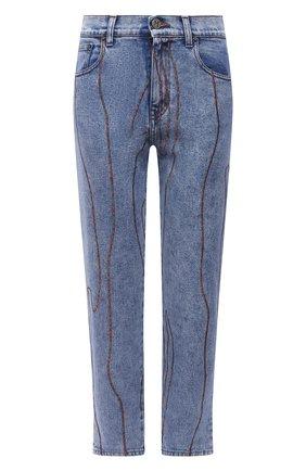 Женские джинсы M MISSONI синего цвета, арт. 2DI00258/2W006T   Фото 1