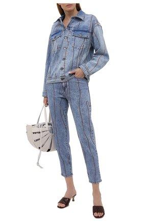 Женские джинсы M MISSONI синего цвета, арт. 2DI00258/2W006T   Фото 2