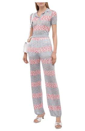 Женские брюки из вискозы M MISSONI разноцветного цвета, арт. 2DI00299/2K0096   Фото 2