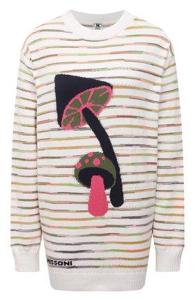 Женский хлопковый пуловер M MISSONI разноцветного цвета, арт. 2DN00338/2K008N   Фото 1
