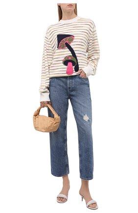 Женский хлопковый пуловер M MISSONI разноцветного цвета, арт. 2DN00338/2K008N   Фото 2