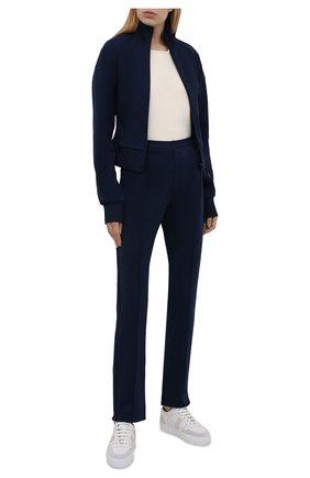 Женские брюки Y-3 темно-синего цвета, арт. GV0330/W | Фото 2