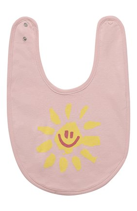 Детский комплект из двух нагрудников STELLA MCCARTNEY розового цвета, арт. 602577/SQJ09 | Фото 2