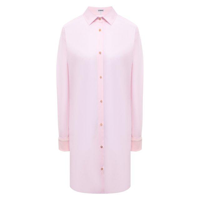 Хлопковая рубашка Loewe