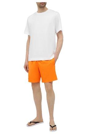 Мужские плавки-шорты VILEBREQUIN оранжевого цвета, арт. MAHH0I00/133 | Фото 2