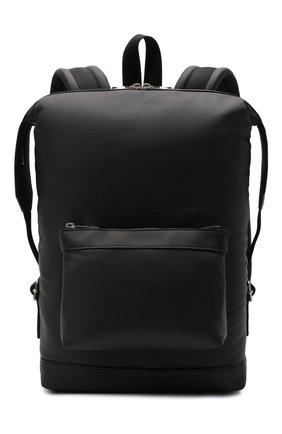 Мужской кожаный рюкзак BOTTEGA VENETA черного цвета, арт. 658066/V00Z3 | Фото 1