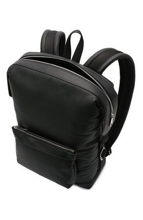 Мужской кожаный рюкзак BOTTEGA VENETA черного цвета, арт. 658066/V00Z3 | Фото 4
