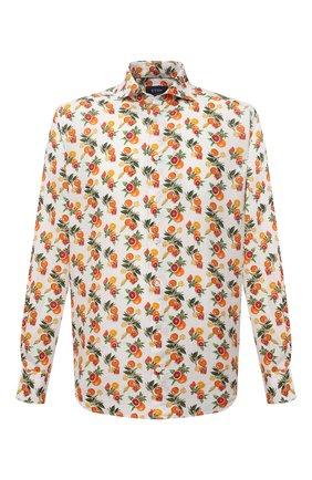 Мужская льняная рубашка ETON разноцветного цвета, арт. 1000 03075 | Фото 1