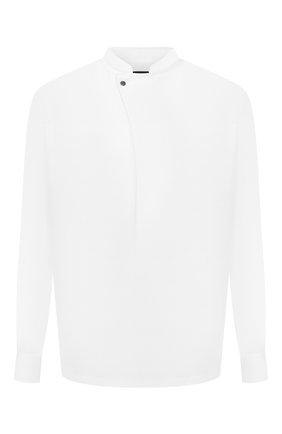 Мужская рубашка GIORGIO ARMANI белого цвета, арт. 1WGCCZ72/TZ998   Фото 1