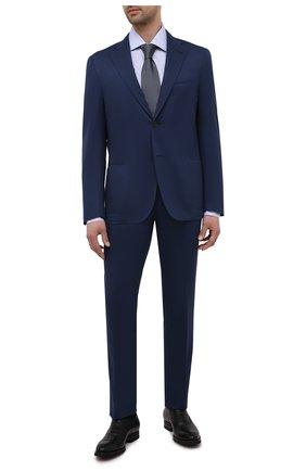 Мужские кожаные оксфорды MAGNANNI черного цвета, арт. 21255/B0LTIARCADE | Фото 2