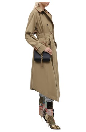 Женские текстильные сапоги cardinale DOLCE & GABBANA разноцветного цвета, арт. CT0735/A0657 | Фото 2 (Подошва: Плоская; Высота голенища: Средние; Каблук тип: Шпилька; Материал внешний: Текстиль; Каблук высота: Высокий; Материал внутренний: Натуральная кожа)