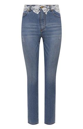 Женские джинсы ERMANNO FIRENZE голубого цвета, арт. D38ET JL050PR | Фото 1