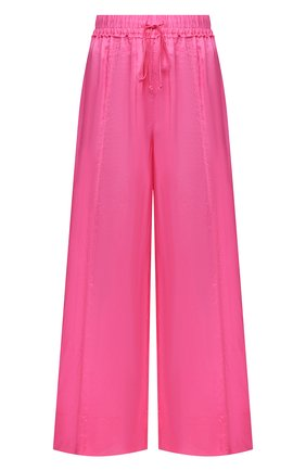 Женские шелковые брюки FORTE_FORTE розового цвета, арт. 8230 | Фото 1
