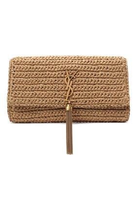 Женская сумка kate supple SAINT LAURENT бежевого цвета, арт. 604276/GG6AW | Фото 1