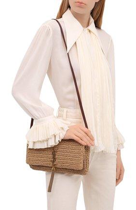Женская сумка kate supple SAINT LAURENT бежевого цвета, арт. 604276/GG6AW | Фото 2