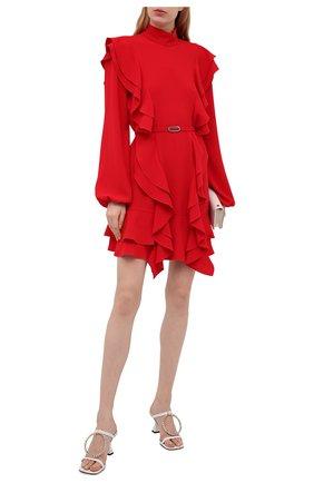 Женское платье N21 красного цвета, арт. 21E N2M0/H191/5080   Фото 2