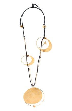 Женское колье loewe x paula's ibiza LOEWE золотого цвета, арт. J901241X01   Фото 1