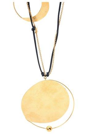 Женское колье loewe x paula's ibiza LOEWE золотого цвета, арт. J901241X01   Фото 2