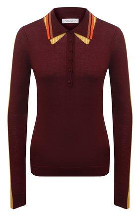 Женский кашемировый пуловер GABRIELA HEARST бордового цвета, арт. 221926 A003 | Фото 1
