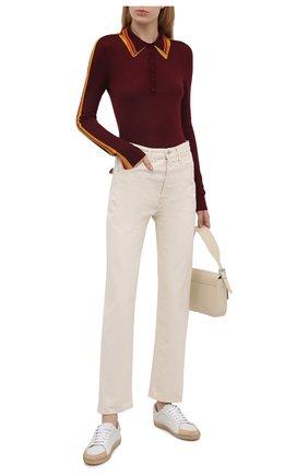 Женский кашемировый пуловер GABRIELA HEARST бордового цвета, арт. 221926 A003 | Фото 2