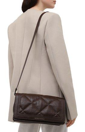 Женская сумка BRUNELLO CUCINELLI темно-коричневого цвета, арт. MB00D2308P   Фото 2