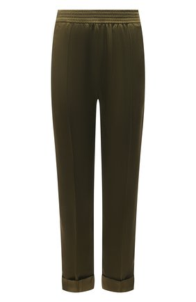 Женские брюки HAIDER ACKERMANN зеленого цвета, арт. 213-1406-138 | Фото 1