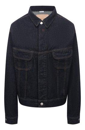 Женская джинсовая куртка HERON PRESTON FOR CALVIN KLEIN темно-синего цвета, арт. K10K108254   Фото 1