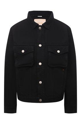 Женская джинсовая куртка HERON PRESTON FOR CALVIN KLEIN черного цвета, арт. K20K203540   Фото 1