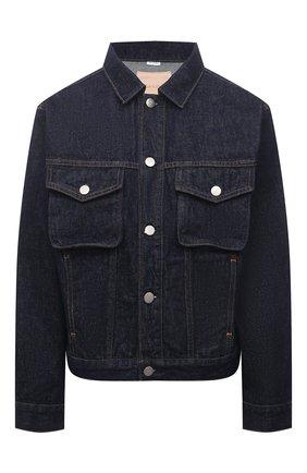 Женская джинсовая куртка HERON PRESTON FOR CALVIN KLEIN темно-синего цвета, арт. K20K203541   Фото 1