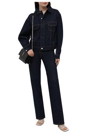 Женские джинсы HERON PRESTON FOR CALVIN KLEIN темно-синего цвета, арт. K10K108241   Фото 2