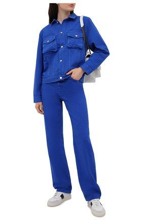 Женские джинсы HERON PRESTON FOR CALVIN KLEIN синего цвета, арт. K20K203535   Фото 2