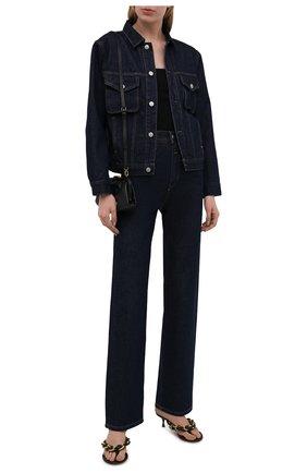 Женские джинсы HERON PRESTON FOR CALVIN KLEIN темно-синего цвета, арт. K20K203536   Фото 2