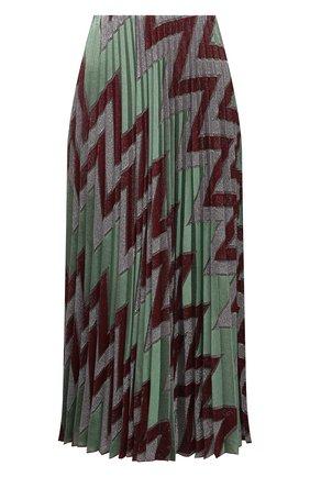 Женская юбка из хлопка и вискозы M MISSONI разноцветного цвета, арт. 2DH00207/2J005M   Фото 1