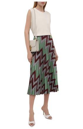 Женская юбка из хлопка и вискозы M MISSONI разноцветного цвета, арт. 2DH00207/2J005M   Фото 2