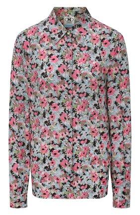 Женская рубашка из вискозы M MISSONI разноцветного цвета, арт. 2DJ00130/2W006Z   Фото 1