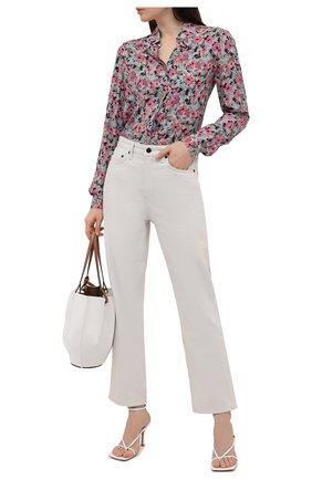 Женская рубашка из вискозы M MISSONI разноцветного цвета, арт. 2DJ00130/2W006Z   Фото 2
