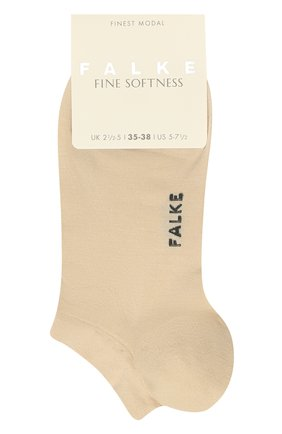 Женские носки FALKE кремвого цвета, арт. 46422 | Фото 1