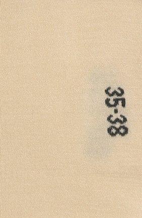 Женские носки FALKE кремвого цвета, арт. 46422 | Фото 2